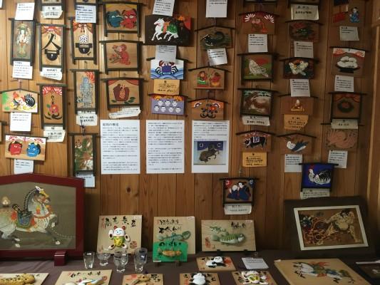 190814絵馬資料館ー江戸時代の復刻絵馬の展示ほか