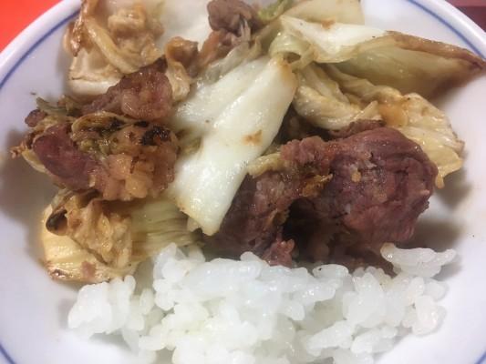 191211肉漬け(牛肉)-調理後ー藤屋旅館